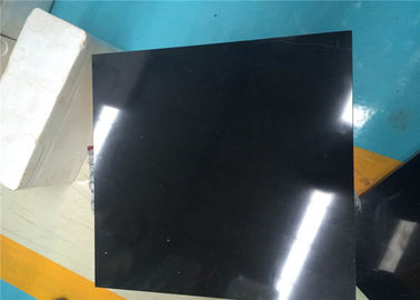 China 30x30cm Nero Marquina Marble Tiles Polished Surface For Exterior Wall supplier