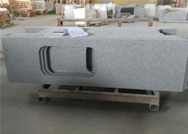 China Sesame White Granite Countertops , Durable Prefab Granite Kitchen Countertops supplier