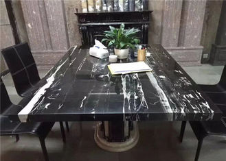 China Prefabricated Marble Table Tops Onyx Multiple Shape For Kitchen Dining Table supplier