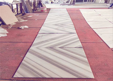 China Cut to Size Natural Stone Tiles Book Match Marmala White Marble Wall Tiles 30x60 supplier