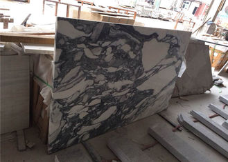 China Arabescato Prefabricated Marble Countertops , Polished Pre Built Countertops For Hotel supplier
