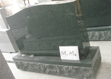 China Traditional Gravestones And Monuments , Upright Granite Headstones For Graves supplier