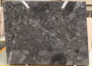 China Modern Grey Marble Tiles , Gray Natural Stone Tile For Countertops supplier