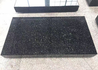 China Modern Black Granite Tombstone And Monument Square Rectangle Shape Polished Surface supplier