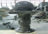 Elegant Floating Marble Ball Fountain , Interior Decorative Stone Marble