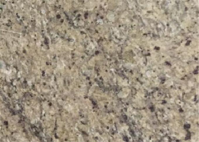 Superior Double Sink Prefab Bathroom Vanity Tops Venetian Gold Granite Stone
