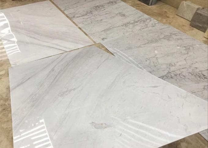 Home Decoration Thin Marble Slab , Thin Stone Tile 4mm Thickness