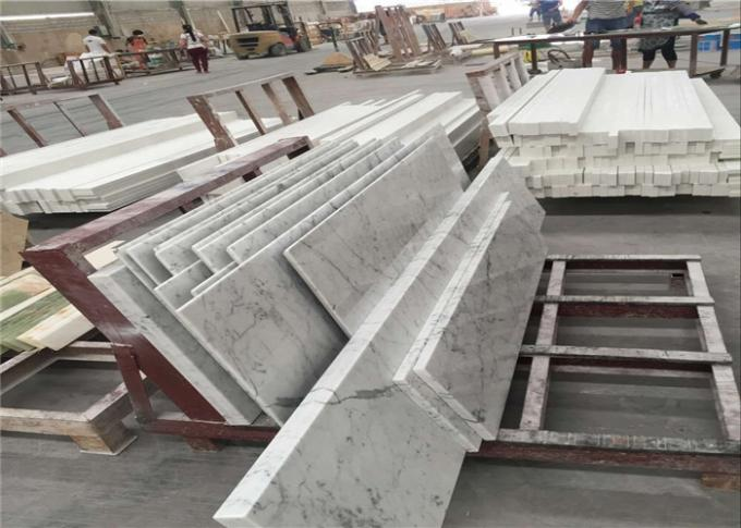 Superior Carrara White Marble Table Tops For Restaurant Dinning Table
