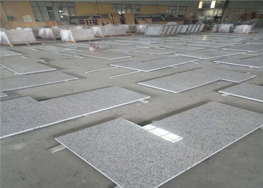 China Polished L Shaped Granite Countertop , Prefabricated Stone Countertops L Shape Seam distributor