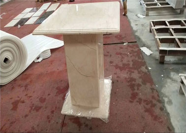China Onyx Coffee Table Square Marble Table Top Sunny Beige Color Honed Finishing factory