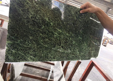 China Natural Green Marble Ultra Thin Stone Easy Construction For Wall Panel factory