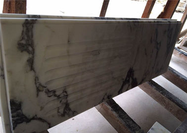 China Modern Prefab Kitchen Countertops Arabescato White Marble OEM Service distributor