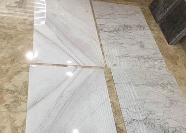 China Home Decoration Thin Marble Slab , Thin Stone Tile 4mm Thickness distributor