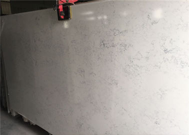China Quartz Slab Artificial White Carrara Quartz Polished Surface Treatment distributor