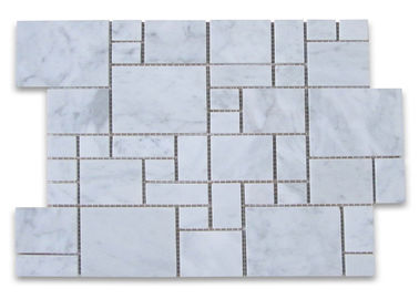 China Versailles Pattern Stone Mosaic Tile For Bathroom Classic Appearance factory