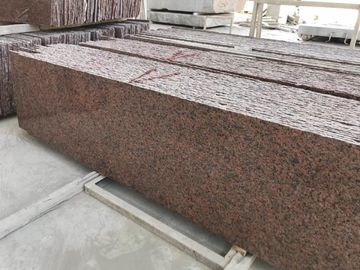 China Smooth Cut To Size Natural Stone And Tile G562 Maple Red Granite Slab distributor