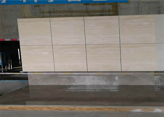 Super Light Natural Stone Tiles , Italian Ivory White Travertine Marble Wall Tile